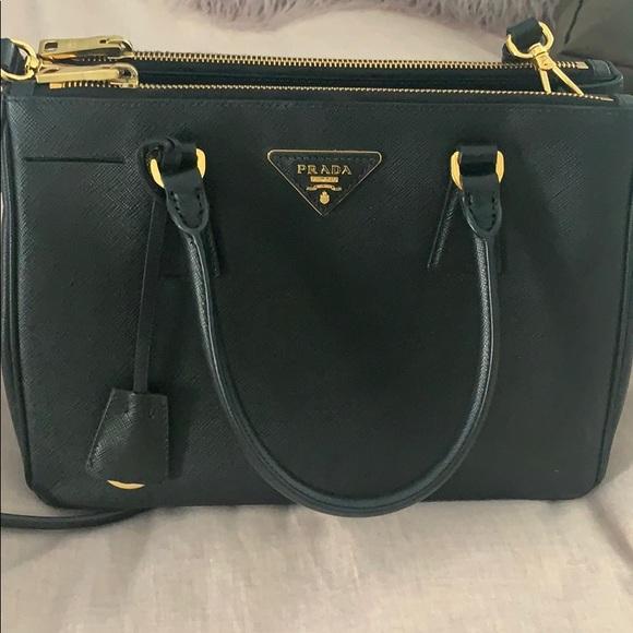 076ddca20f18b6 Prada Bags | Medium Black Bag With Shoulder Strap | Poshmark